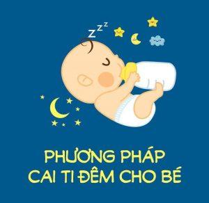 cách cai sữa đêm cho bé hiệu quả